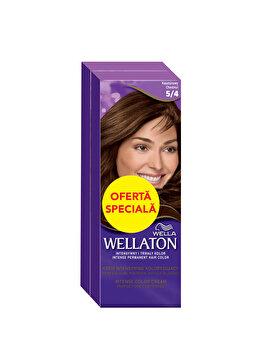 Pachet promo Wella (2 x Vopsea de par Wella Wellaton Color Intense, Castaniu 5/4) imagine produs
