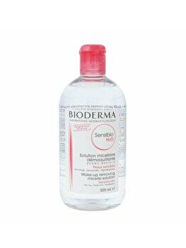 Solutie micelara Bioderma Sensibio H2O pentru ten sensibil, 500 ml imagine produs
