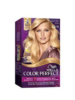 Vopsea de par Wella, Perfect Kit 10/0 Very Light Blond, 120 ml imagine produs