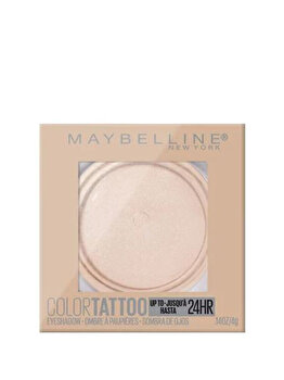 Fard de pleoape rezistent la apa Maybelline Color Tattoo 24H, 210 Front Runner, 4 g imagine produs
