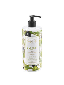 Gel de dus Vellie Olive, 400 ml imagine produs