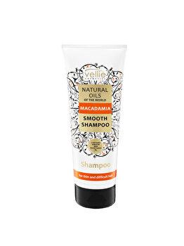 Sampon de par cu ulei de Macadamia Vellie Natural Oils, 250 ml imagine produs
