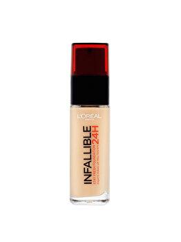 Fond de ten L'Oréal Paris Infallible Make-Up 24H, 300 Amber, 30 ml imagine produs