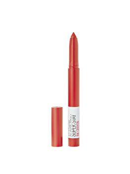 Ruj tip creion Maybelline New York Superstay Ink Crayon, 40 Laugh Louder, 13 g imagine produs