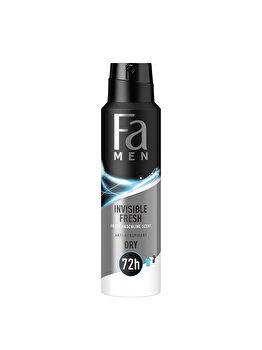 Deodorant spray antiperspirant Fa Men Invisible Fresh, 150 ml poza
