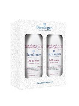 Set cadou Barnangen Oil Intense (Crema de dus, 400 ml + Lotiune de corp, 400 ml) poza
