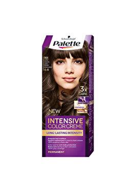 Vopsea de par Palette Intensive Color Cream N4 Saten Deschis, 100 ml poza