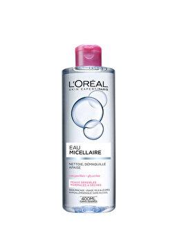 Apa micelara L'Oréal Paris pentru piele sensibila, ten uscat, 400 ml imagine produs