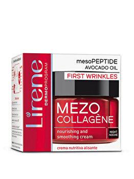 Crema de noapte pentru primele riduri Lirene Mezo Collagene, 50 ml poza