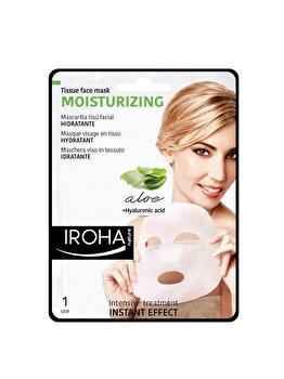 Masca-servetel hranitoare pentru fata Iroha Moisturizing Aloe + Hyaluronic Acid, 1 buc. imagine produs