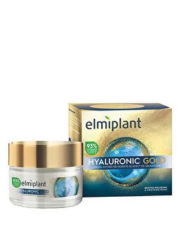 Crema de noapte antirid Elmiplant Hyaluronic Gold, 50 ml imagine produs