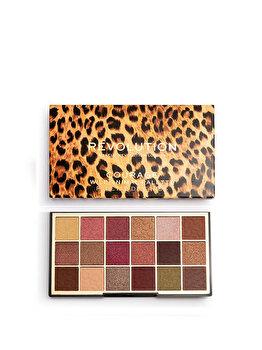 Paleta farduri pleoape Makeup Revolution Wild Animal Eyeshadow Palette, Courage, 18 g imagine produs