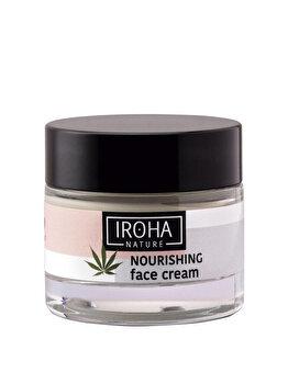 Crema nutritiva pentru fata cu extract de canabis Iroha Cannabis Seed Oil, 50 ml imagine produs