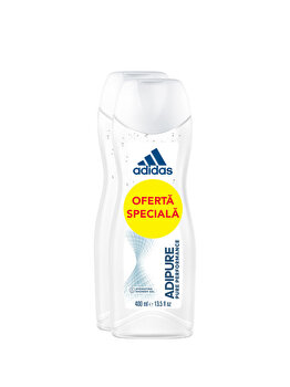 Gel de dus hidratant Adidas Adipure, 400 ml imagine produs