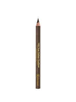 Creion de ochi Dermacol 12H True Colour, No.9 Army Green, 2 g imagine produs