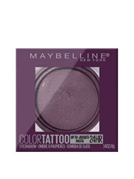 Fard de pleoape rezistent la apa Maybelline Color Tattoo 24H, 160 Knockout, 4 g imagine produs