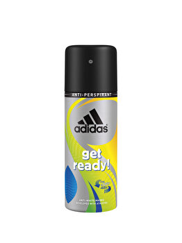 Deodorant spray parfumat Adidas Get Ready, 150 ml poza