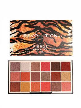 Paleta farduri pleoape Makeup Revolution Wild Animal Eyeshadow Palette, Fierce, 18 g imagine produs