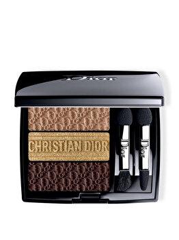 Paleta farduri pleoape Christian Dior 3 Colour Mania, 553 Earthy, 3.3 g imagine produs