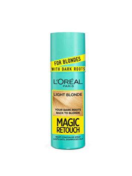Spray instant pentru camuflarea radacinilor L'Oréal Paris Magic Retouch Dark Roots, 9.3 Blond Auriu, 75 ml imagine produs