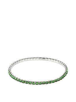 Bratara e-Crystal cu Cristale Swarovski Dark Moss Green 137E04-86 elefant imagine 2021