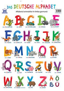 Plansa - Alfabetul animalelor in limba germana/*** imagine