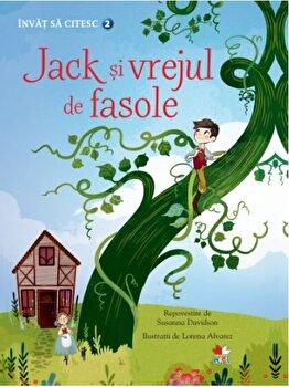 Invat sa citesc. Nivelul 2. Jack si vrejul de fasole/Susanna Davidson