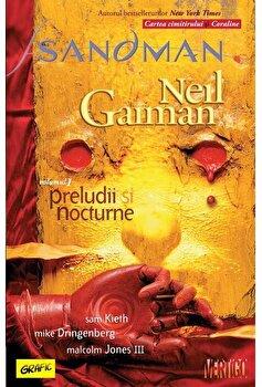 Sandman 1. Preludii si nocturne-Neil Gaiman imagine
