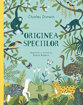 Originea speciilor./Sabina Radeva, Charles Darwin