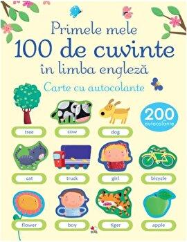 Primele 100 de cuvinte in limba engleza. Carte cu autocolante/*** poza cate