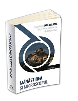 Manastirea si microscopul: convorbiri cu Dalai Lama despre minte, mindfulness si natura realitatii-Dalai Lama imagine