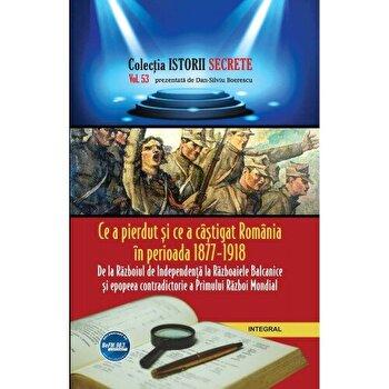 Ce a pierdut si ce a castigat Romania in perioada 1877 - 1918/Dan-Silviu Boerescu