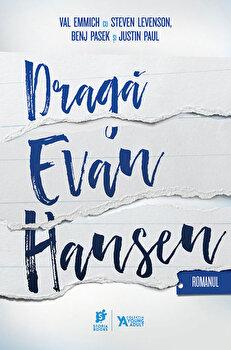 Coperta Carte Draga Evan Hansen