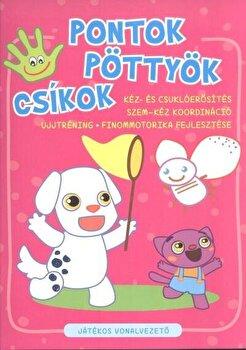 Coperta Carte Pontok, pottyok, csikok