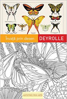 Invata prin desen - Antistres prin arta (carte de colorat)/Playbac imagine elefant.ro