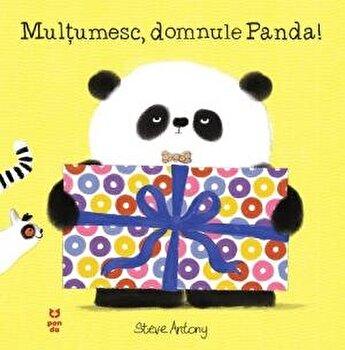 Multumesc, domnule Panda/Steve Antony