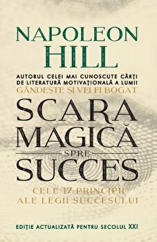 Scara magica spre succes.-Napoleon Hill imagine