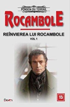 Coperta Carte Rocambole 15 - Reinvierea lui Rocambole 1