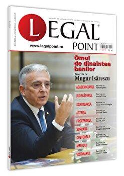 Revista Legal Point 1/2019/Universul Juridic poza cate