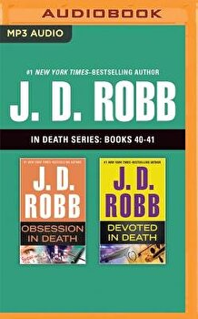J. D. Robb: In Death Series, Books 40-41: Obsession in Death, Devoted in Death/J. D. Robb image0
