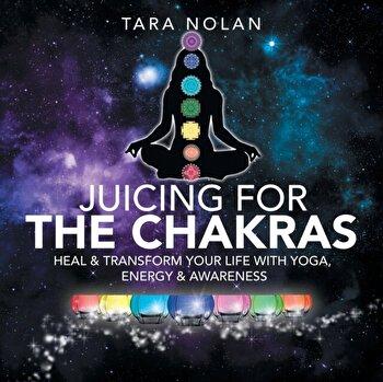 Healing the Chakras  Clear Energy Blocks to Transform Your Life Through Awareness  Yoga   Juicing  Paperback Tara Nolan