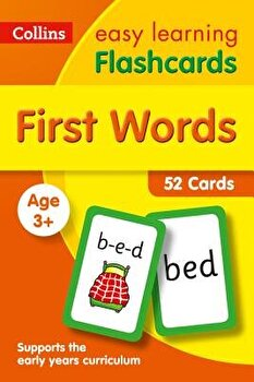 First Words Flashcards  40 Cards  Hardcover Collins UK