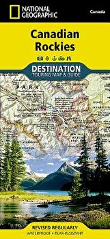 Canadian Rockies Destination Guide Map/National Geographic Maps image0