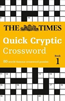 The Times Quick Cryptic Crossword  Book 1  Paperback The Times Mind Games