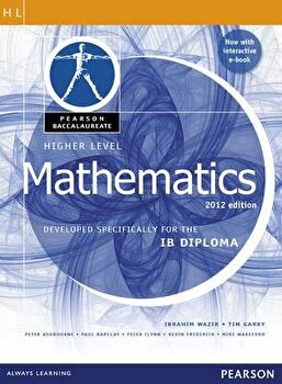 Mathematics, Higher Level, for the Ib Diploma (Student Book with Etext Access Code) (Pearson Baccalaureate), Paperback (2nd Ed.)/Ibrahim Wazir image0