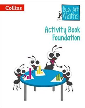 Activity Book F  Busy Ant Maths  Paperback Cherri Moseley