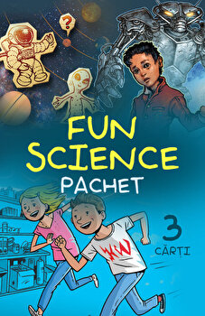 "Pachet ""Fun Science""/Jennifer Brown, Steve Hockensmith"