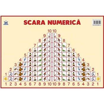 Plansa - scara numerica/Didactica Publishing House