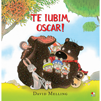 Te iubim, Oscar!/David Melling