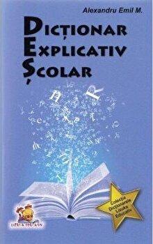 Dictionar explicativ scolar/Alexandru Emil M.